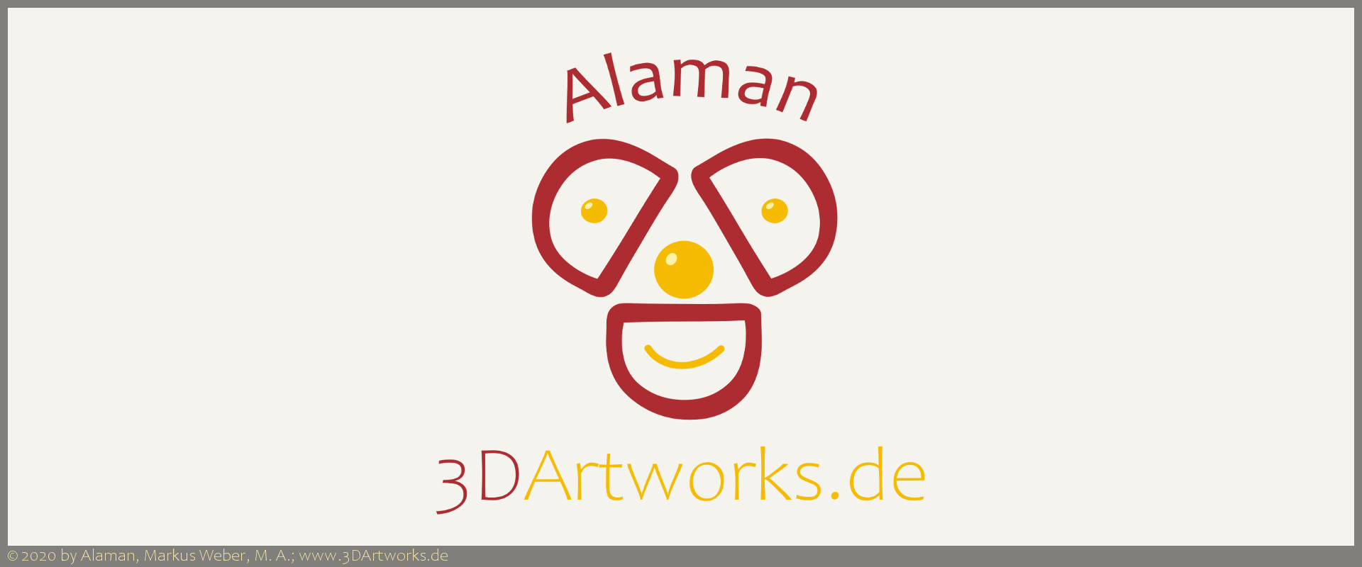 Logo Alaman 3D Artworks